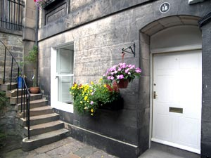 Holiday flat in Edinburgh