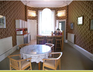 Kitchen-come-dining room